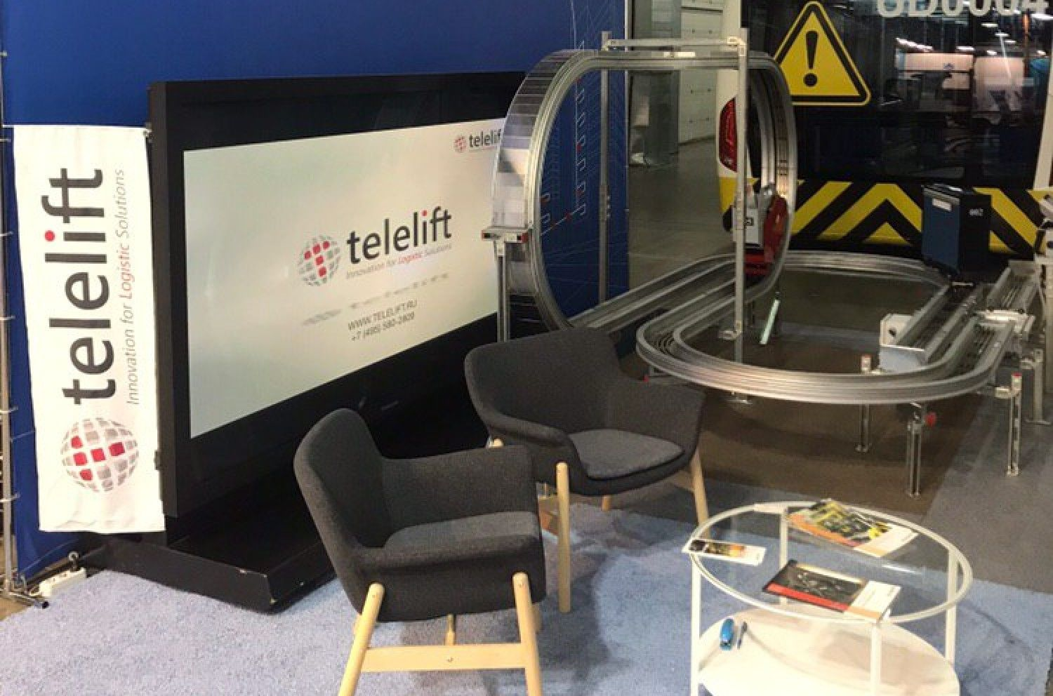 Telelift at NAIS exhibition in Moscow
